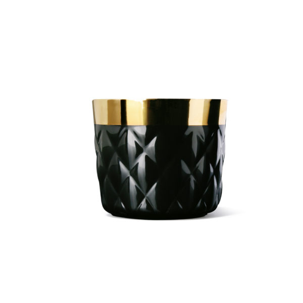 Sip of Gold Cushion black, Sieger by Fürstenberg