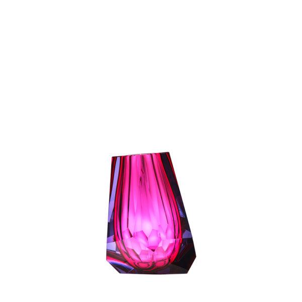 Vase aus Kristallglas - farbig - Moser - Pear - Stamm Vertriebs GmbH - Österreich