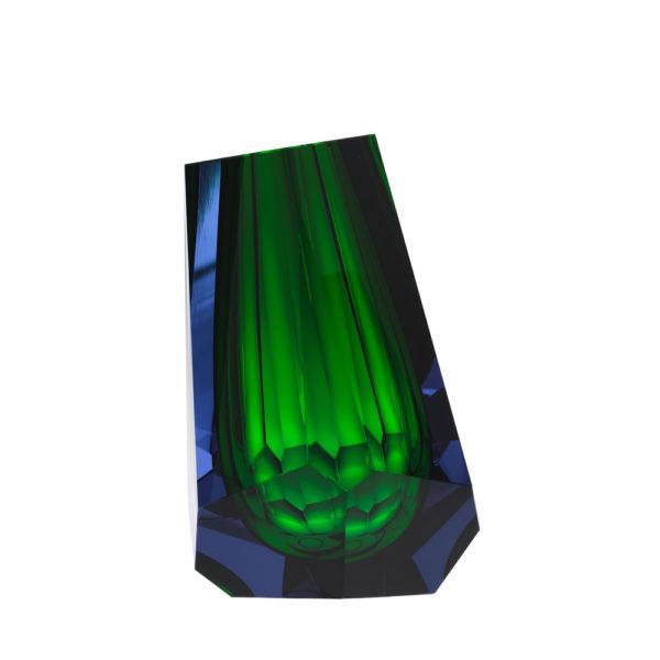 Vase aus Kristallglas - farbig - Moser - Pear Alexandrite Rosalin - Stamm Vertriebs GmbH - Österreich