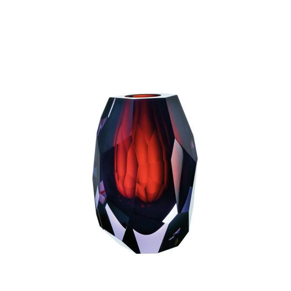Vase aus Kristallglas - farbig - Moser - Caorle Mini - Stamm Vertriebs GmbH - Österreich