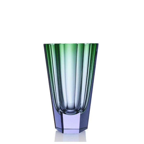 Vase aus Kristallglas - farbig - Moser - Purity resesa alexandrit - Stamm Vertriebs GmbH - Österreich