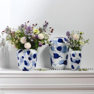 Porzellan - Vase - Luna Drops - Sieger by Fürstenberg - Stamm Vertriebs GmbH aus Österreich